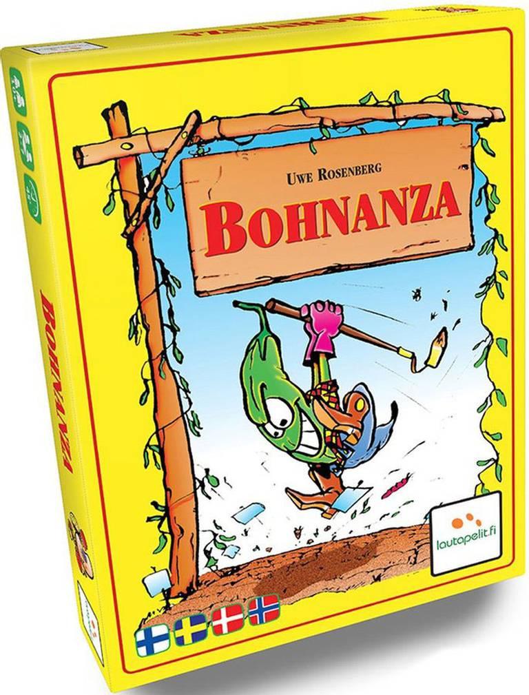 Omslag, kortspelet Bohnanza.