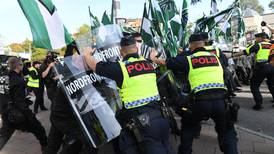 NMR attackerade polisen vid Bokmässan