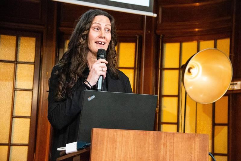 """Maria Gustin Bergström, pastor i Pingst Linköping, är initiativtagare och en av författarna till rapporten """"Konvertitutredningen"""" som presenterades i Citykyrkan i Stockholm på onsdagen."""