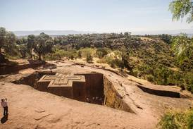 Unika klippkyrkor hotas av konflikten i Tigray