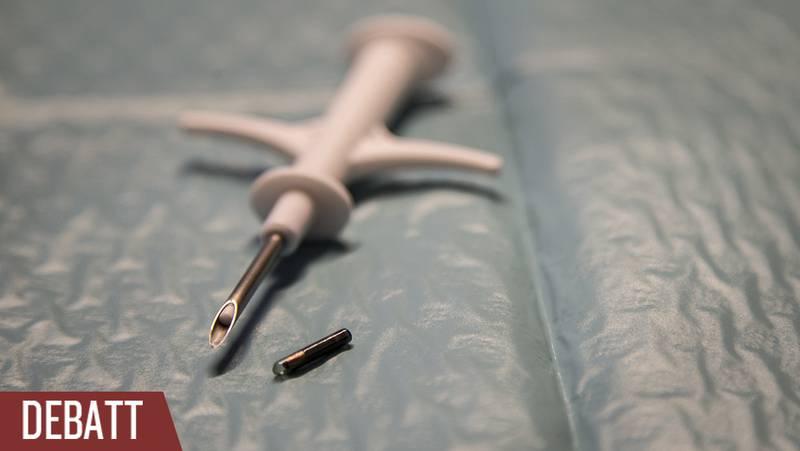 Ett chip som implanteras i handen, och som sedan direkt kommer att kunna användas som betallösning.