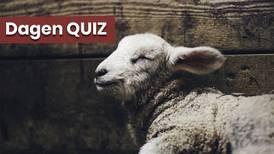 Dagens quiz om djur i Bibeln