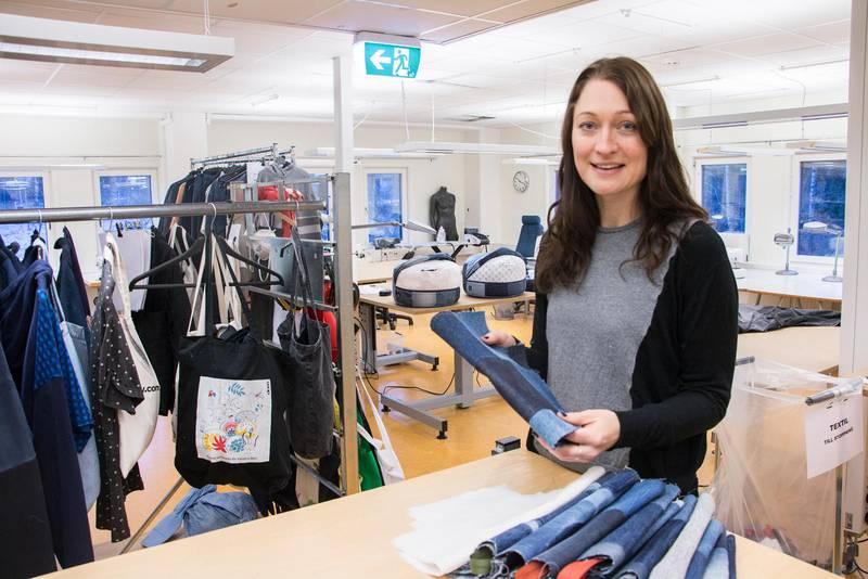 Maria Gimner är marknadsansvarig för sociala företag inom Stadsmissionen.