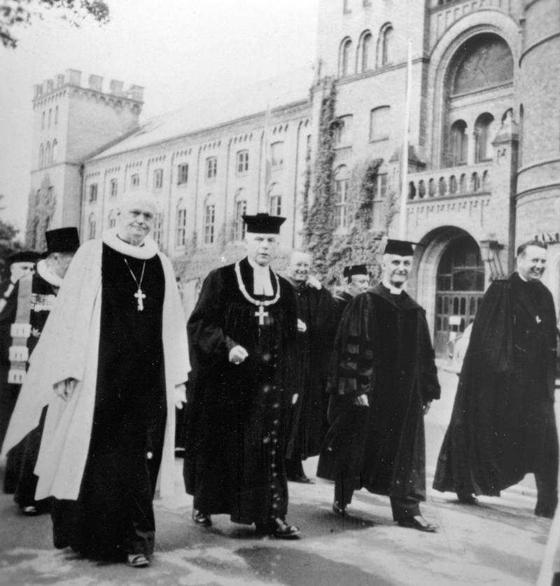 Lutherska världsförbundet bildas i Lund 1947.