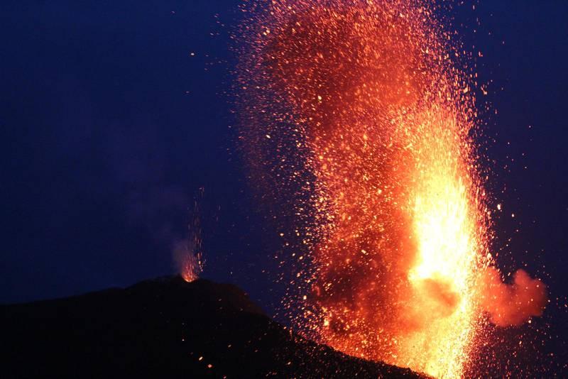 Vulkanen på Stromboli sägs ha temperament som en sicilianska.