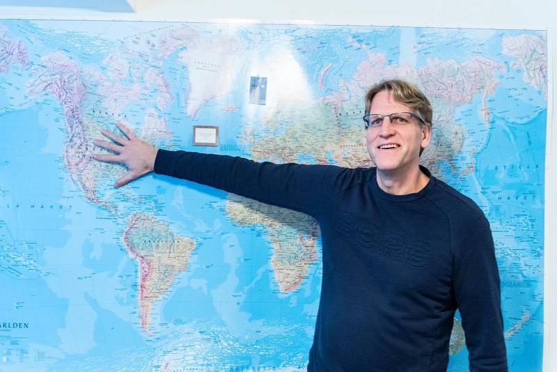 Som evangelist har Peter Ahlman hela världen som arbetsfält.