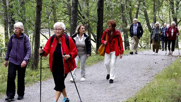 Promenader bryter isolering och ensamhet för äldre