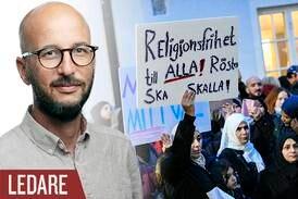 Fel att öppna för förbud av religiösa symboler