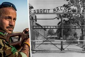 Ex-nazisten Anders Högström erkänner: Jag stal skylten från Auschwitz