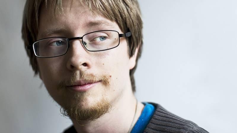 Bloggaran och debattören Micael Grenholm.
