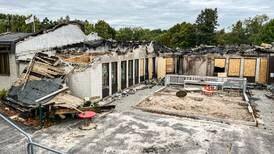 Flera orsaker varför branden i Ansgariikyrkan inte gick att hejda