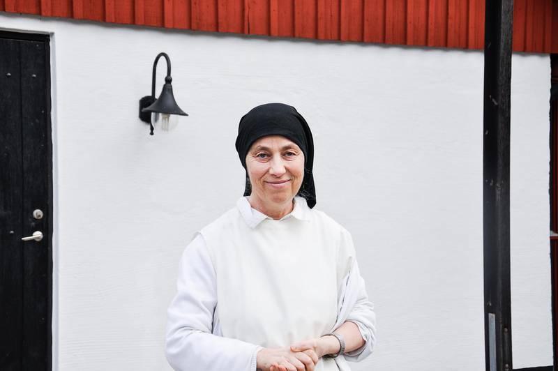 """Författarnunnan. """"Sexualitetens mening är att ge sina liv till varandra"""", säger dominikansystern syster Sofie, som skrivit två böcker på temat."""