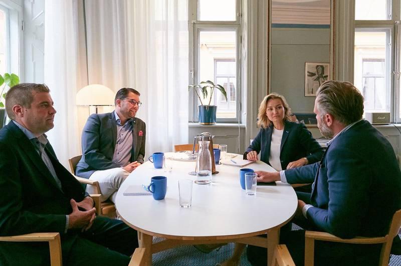 Lunchen med Jimmie Åkesson fick stor uppmärksamhet. I dag anser de flesta KD-väljare att det går att samarbeta med SD i sakfrågor.