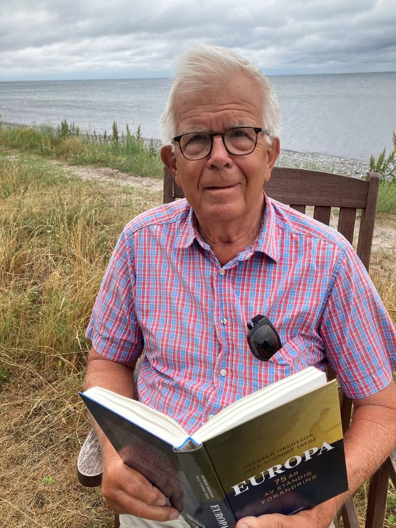 Alf Svensson vid Smygehamn.