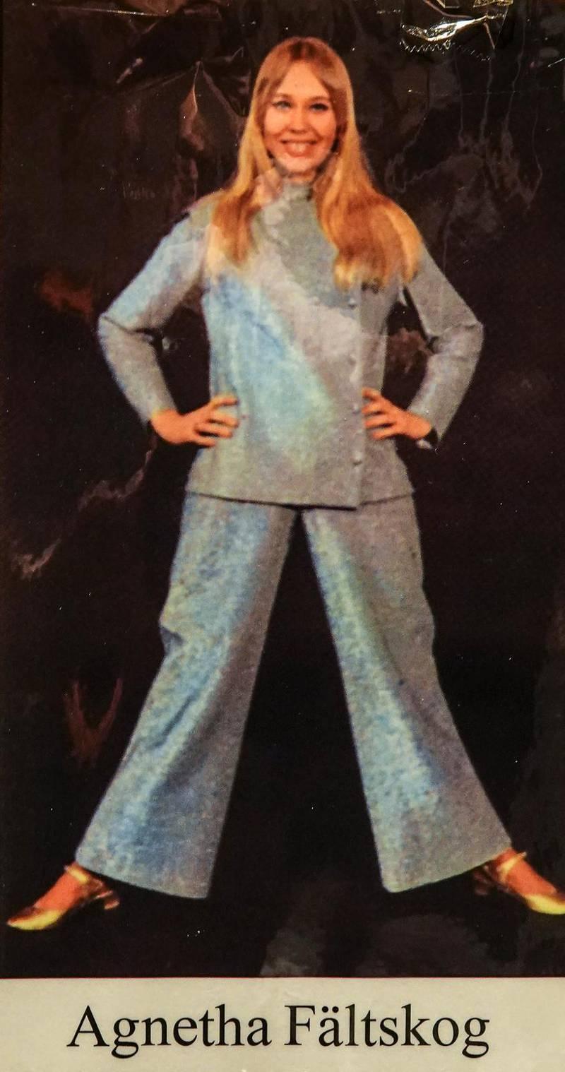 Agnetha Fältskog var 17 år när hon sjöng in sina första sånger hos Evan Ljunggren i Falks Studio i Eksjö.