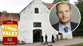 Aron Emilsson (SD): Inte längre (S)venska kyrkan
