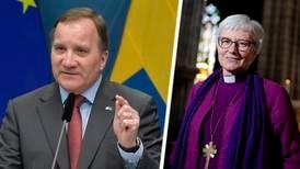 Stefan Löfven stöttar ärkebiskopens Twitterpaus