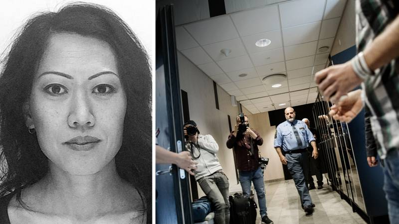 Den 47-årige man som åtalats för mordet på den tidigare pastorn inom Equmeniakyrkan, Lena Wesström, döms till 18 års fängelse av Göta hovrätt. OBS bilden visar häktingsbegäran i Örebro tingsrätt 2019.