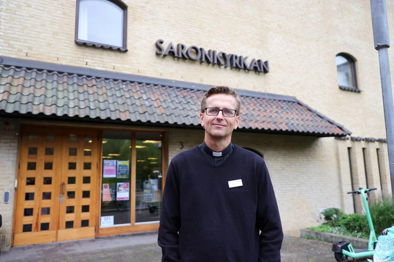 Daniel Dalemo, pastor i Saronkyrkan i Göteborg.