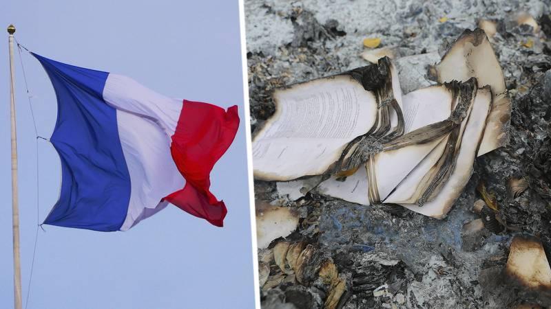 Evangeliska kyrkan är en del av en missionerande verksamhet bland romer i Frankrike. I veckan utsattes kyrkan för grov skadegörelse.