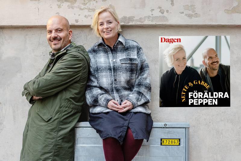 """Paret Jeanette och Gabriel Ingemarsson gör podcasten """"Föräldrapeppen"""""""