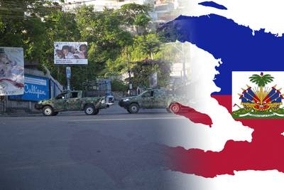 Missionärer med barn kidnappade i Haiti