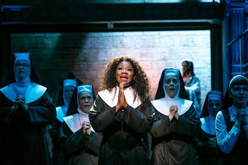 Gladys del Pilar i musikalen En värsting till syster.