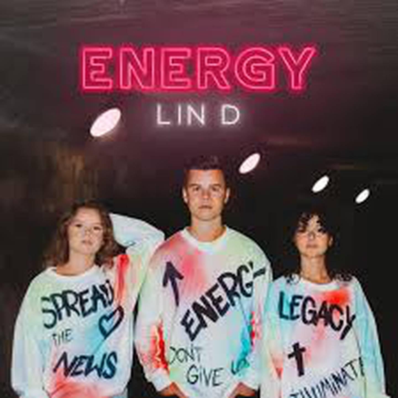 """Lin D """"Energy"""" Skivomslag ep (2020)."""