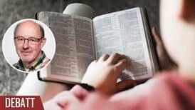 Bibeln behöver ligga på köksbordet