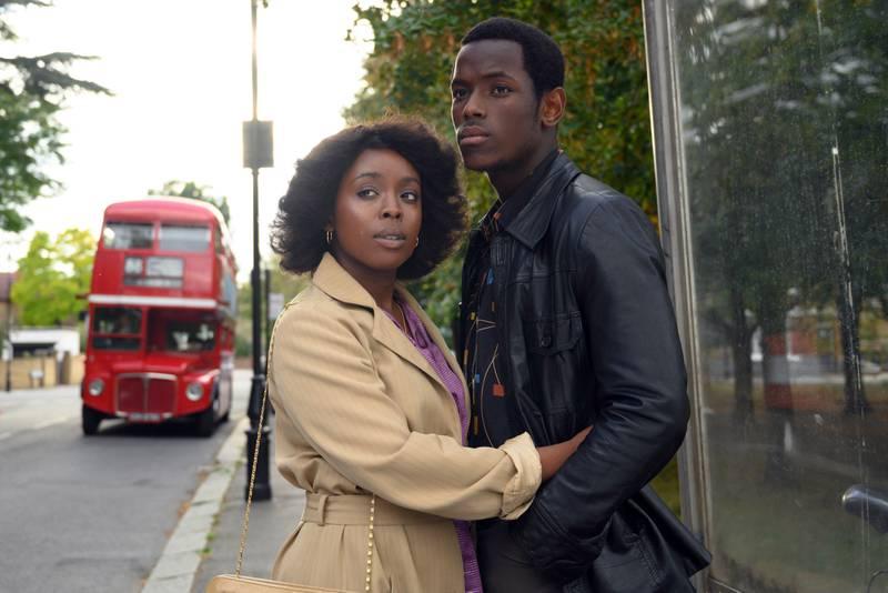 Martha (Amarah-Jae St Aubyn) och Franklyn (Micheal Ward).