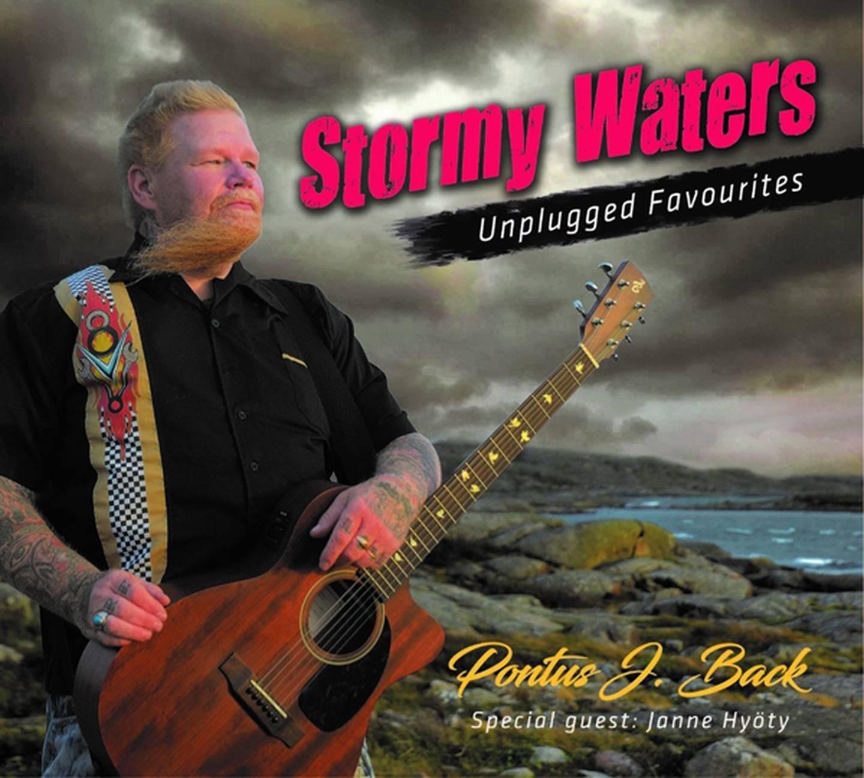 "Pontus J Back ""Stormy waters – Unplugged favourites"" Skivomslag (2020)."