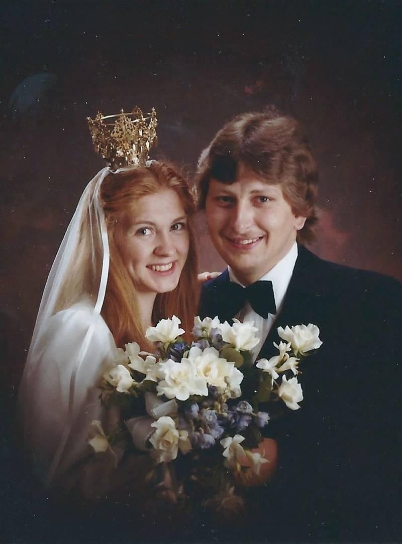 Tomas och Ingela Hagenfors 1979.