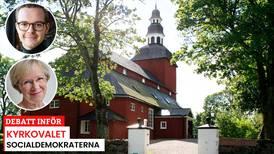 S: Svenska kyrkan ska fortsätta utvecklas som öppen och solidarisk folkkyrka