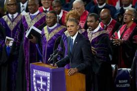 Amazing grace – Obama sjunger gospel