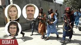 KD: Inga biståndspengar får hamna i talibaners fickor