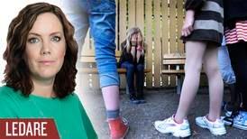 Hur kan svärande vuxna förvånas när barn kränker varandra i skolan?