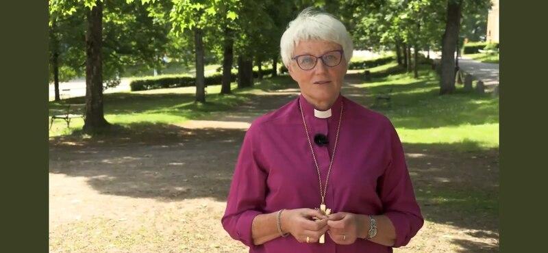 Ärkebiskop Antje Jackelén tillbaka på twitter.