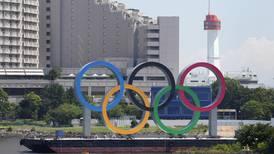 Tron tar plats i OS-byn i Tokyo