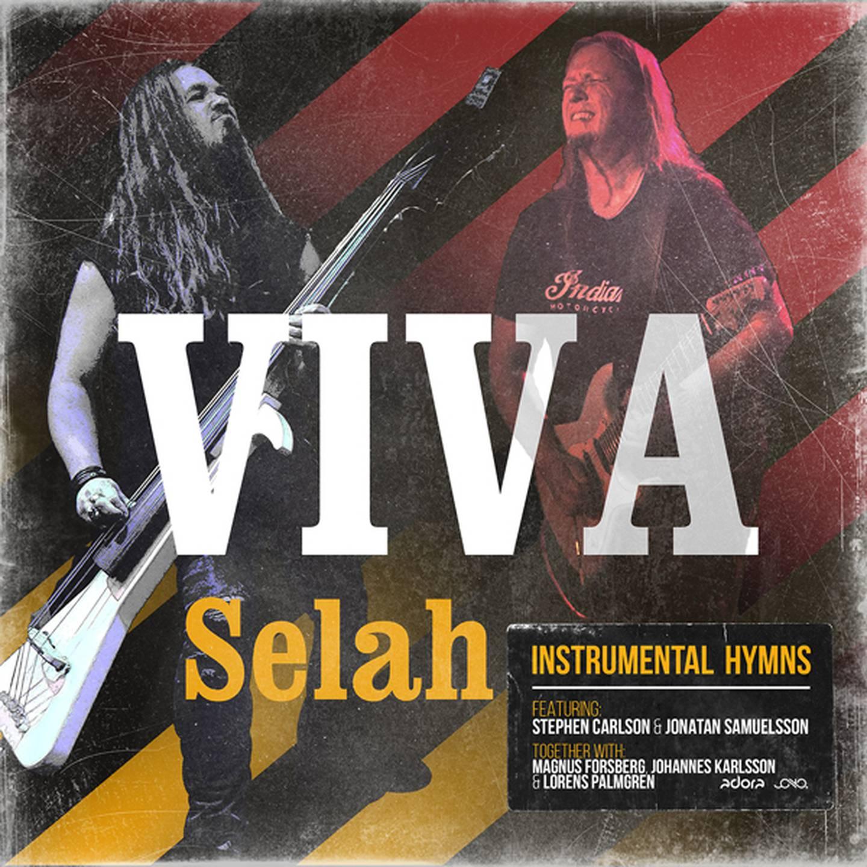 """Stephen Carlson och Jonathan Samuelsson """"Viva – Selah"""" Skivomslag (2020)."""