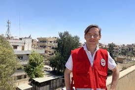 Svenske Markus Nyblom besöker IS-lägret regelbundet