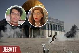 Rättfärdiga inte förtryck av palestinier
