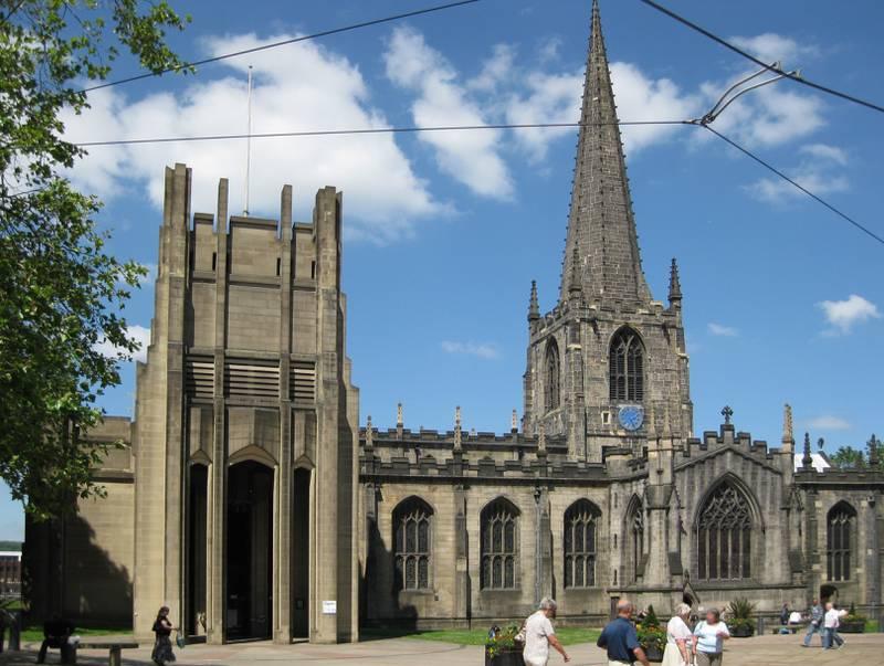 I katedralen i Sheffield fanns det ett bibliotek under georgiansk tid när boken lånades.