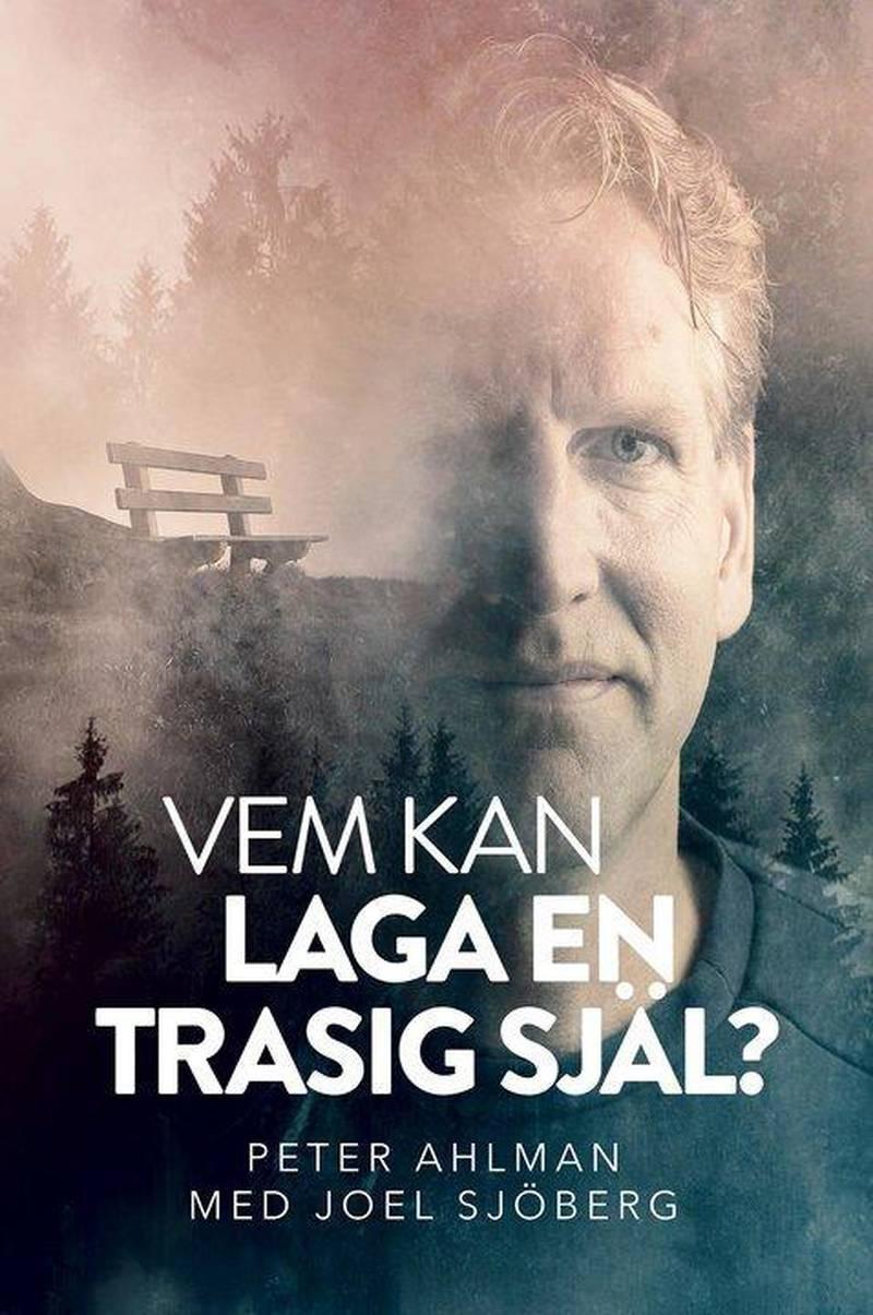 """""""Vem kan laga en trasig själ?"""" är en bok av Peter Ahlman och Joel Sjöberg. Det handlar om Peters liv."""