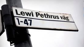 Lewi Pethrus kan få gata uppkallad efter sig