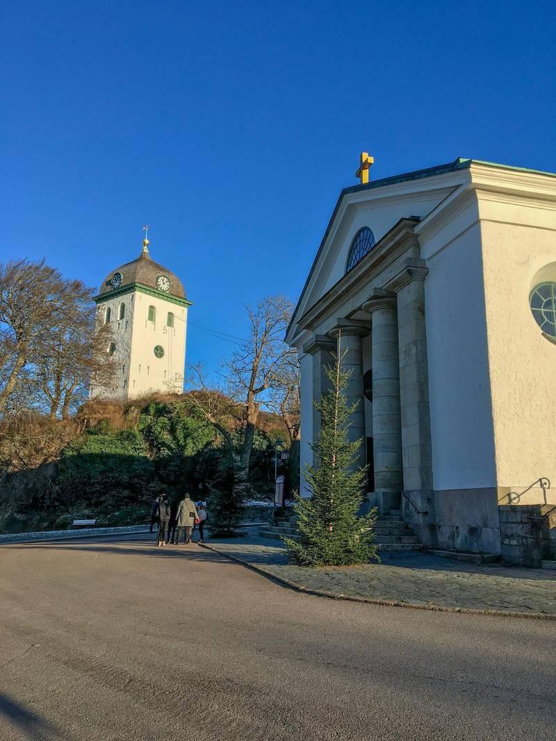 Uddevalla kyrka.