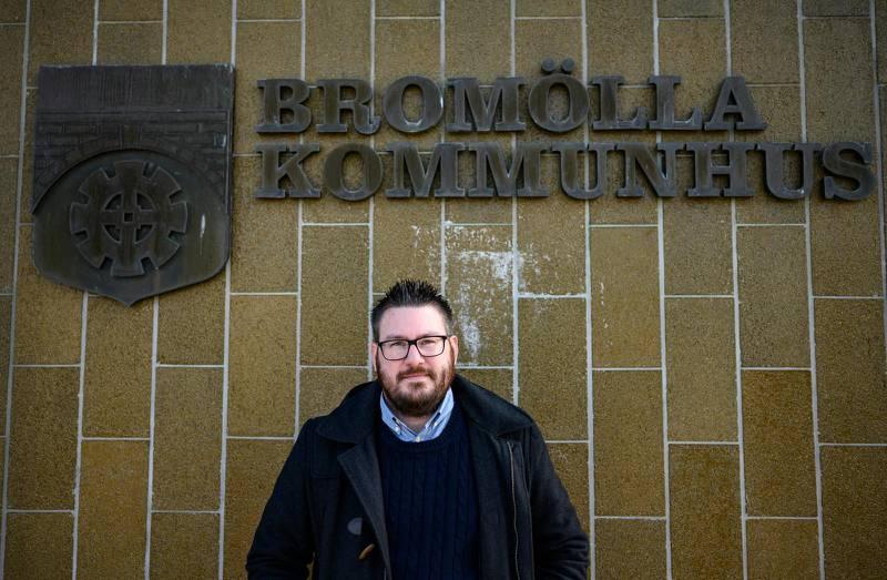 Eric Berntsson (SD), kommunstyrelsens ordförande i Bromölla.