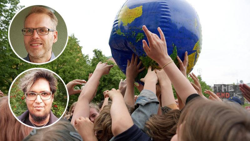 Alla ungdomar världen över behöver mötas av varma kristna som säger till dem att de gör rätt i att ändra livsstil för att rädda jorden, skriver Sven-Gunnar Hultman och Per-Olof Flodström.