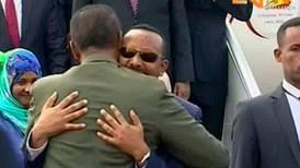 FN:s Guterres möter etiopisk fredsmäklare