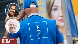 S strategi fram till valet är att koppla KD till SD