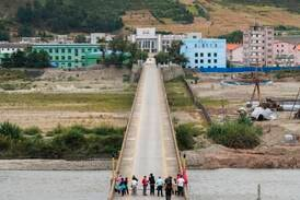 """Kristna nordkoreaner smugglar """"heligt ris"""" över gränsen"""